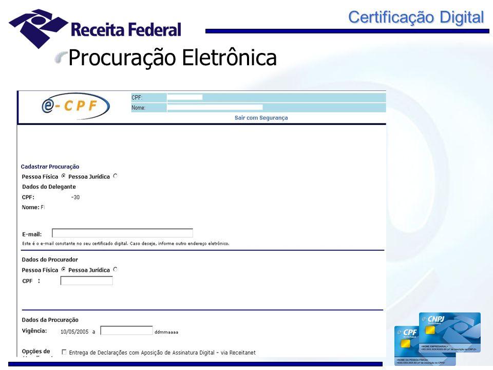 Procuração Eletrônica