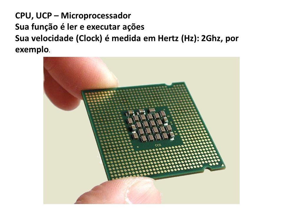 CPU, UCP – Microprocessador
