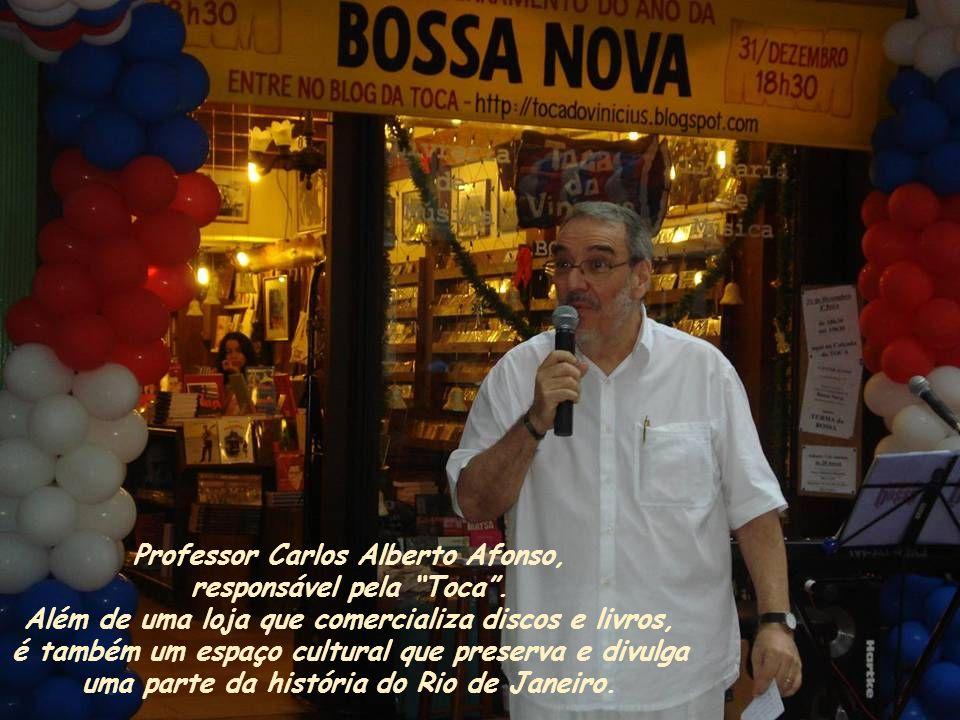 Professor Carlos Alberto Afonso, responsável pela Toca .