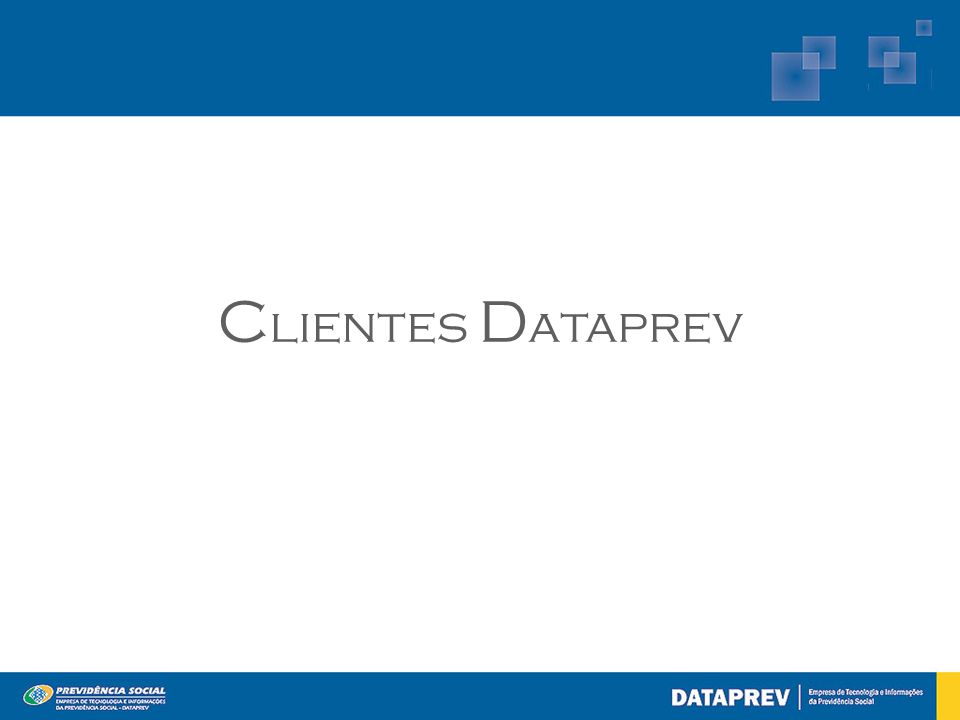 Clientes Dataprev