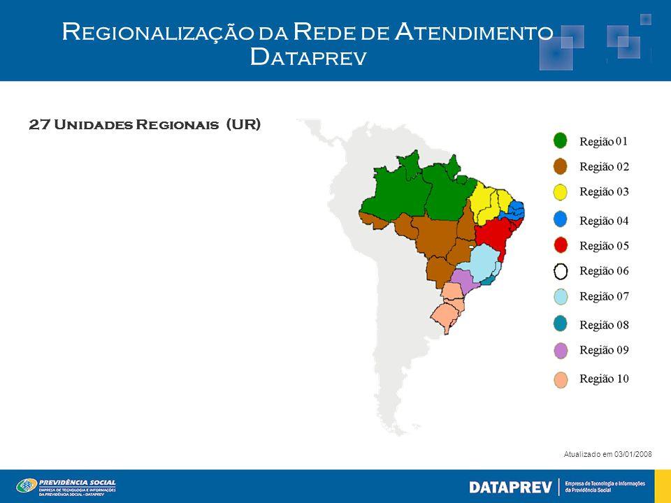 Regionalização da Rede de Atendimento