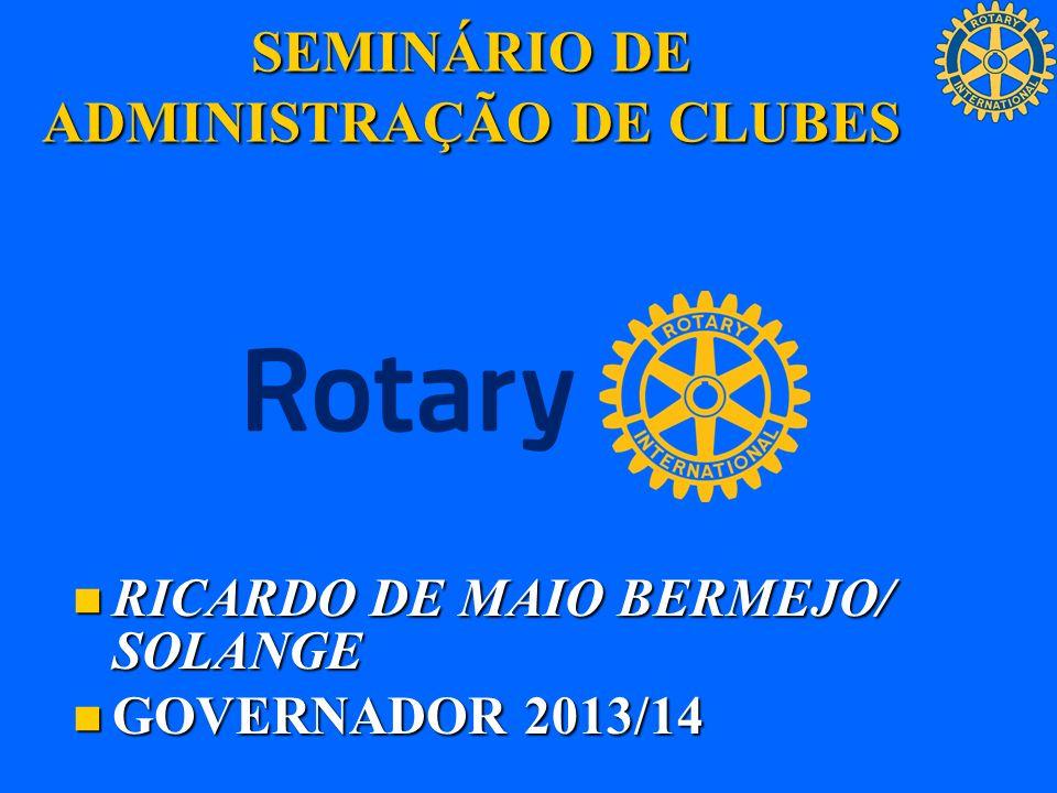 SEMINÁRIO DE ADMINISTRAÇÃO DE CLUBES