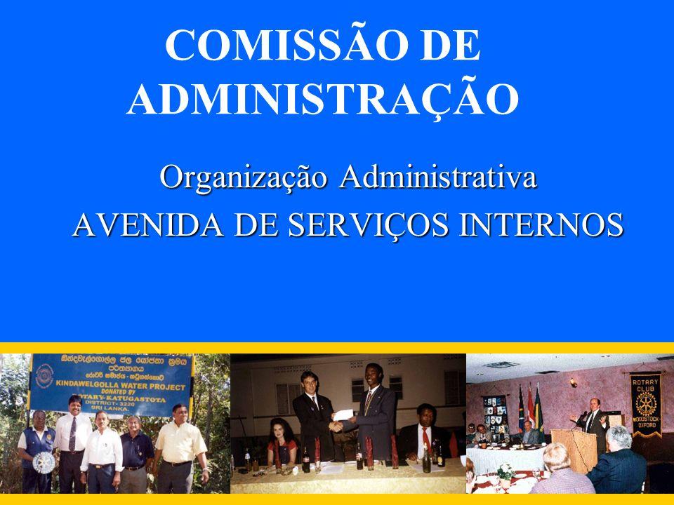COMISSÃO DE ADMINISTRAÇÃO