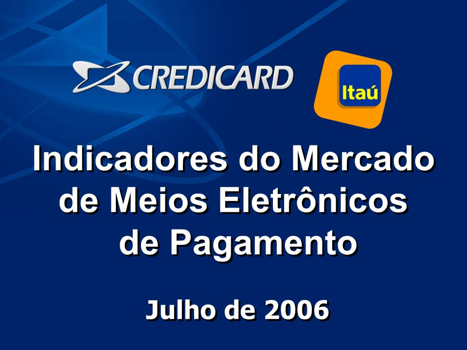 Indicadores do Mercado
