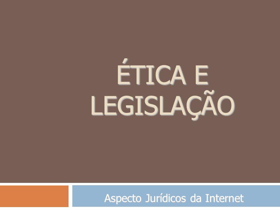 Aspecto Jurídicos da Internet
