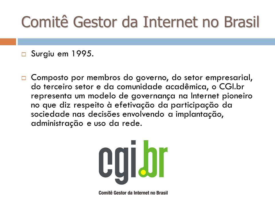Comitê Gestor da Internet no Brasil