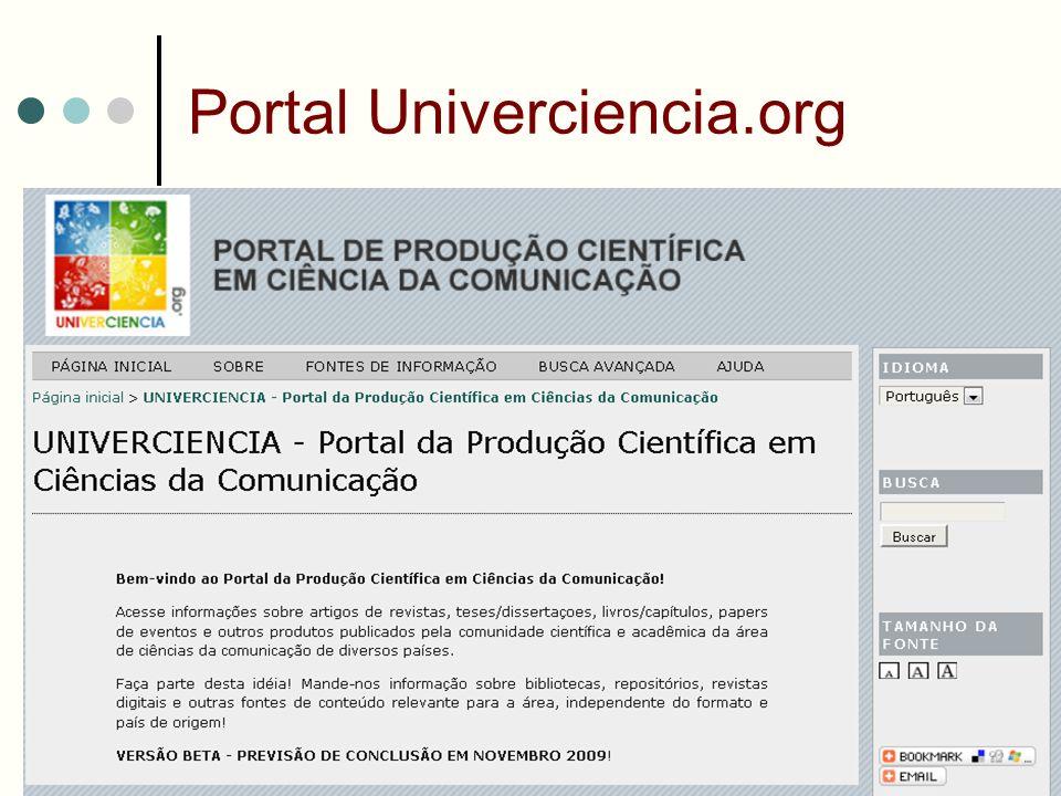 Portal Univerciencia.org