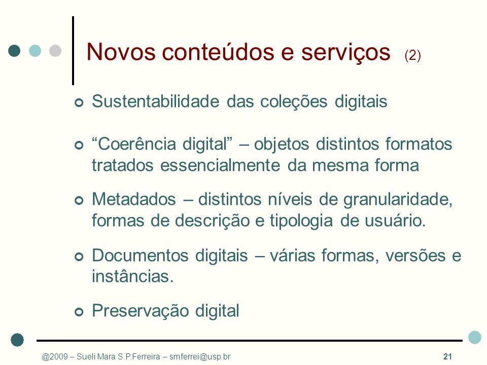 Novos conteúdos e serviços (2)