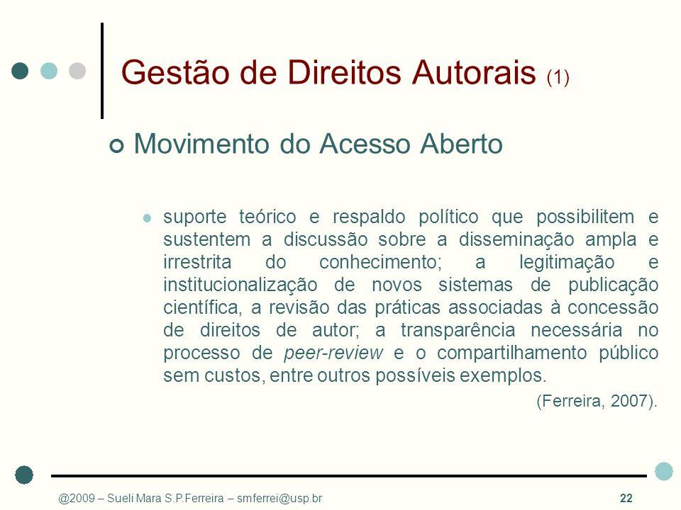 Gestão de Direitos Autorais (1)
