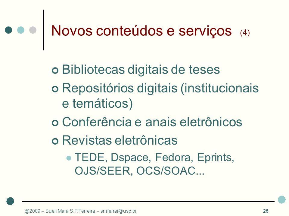 Novos conteúdos e serviços (4)