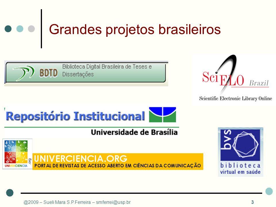 Grandes projetos brasileiros