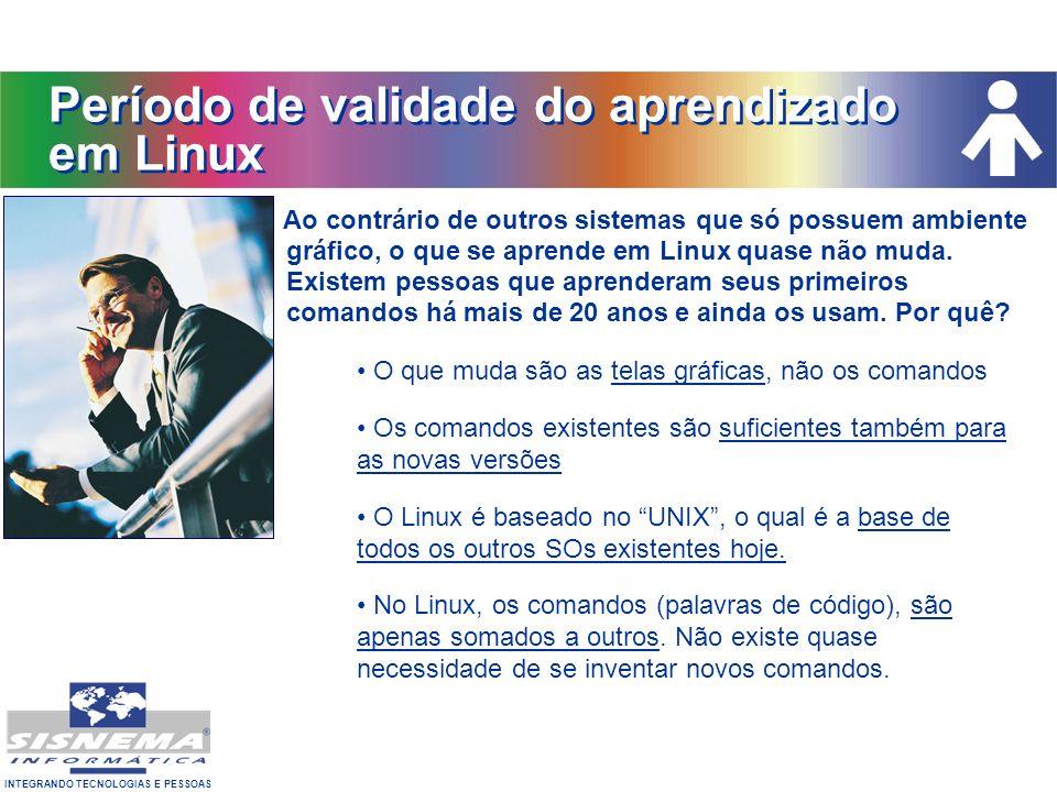 Período de validade do aprendizado em Linux