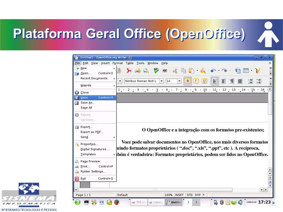 Plataforma Geral Office (OpenOffice)