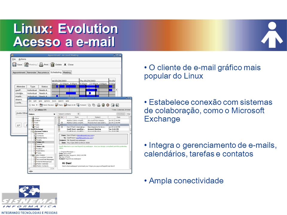 Linux: Evolution Acesso a e-mail