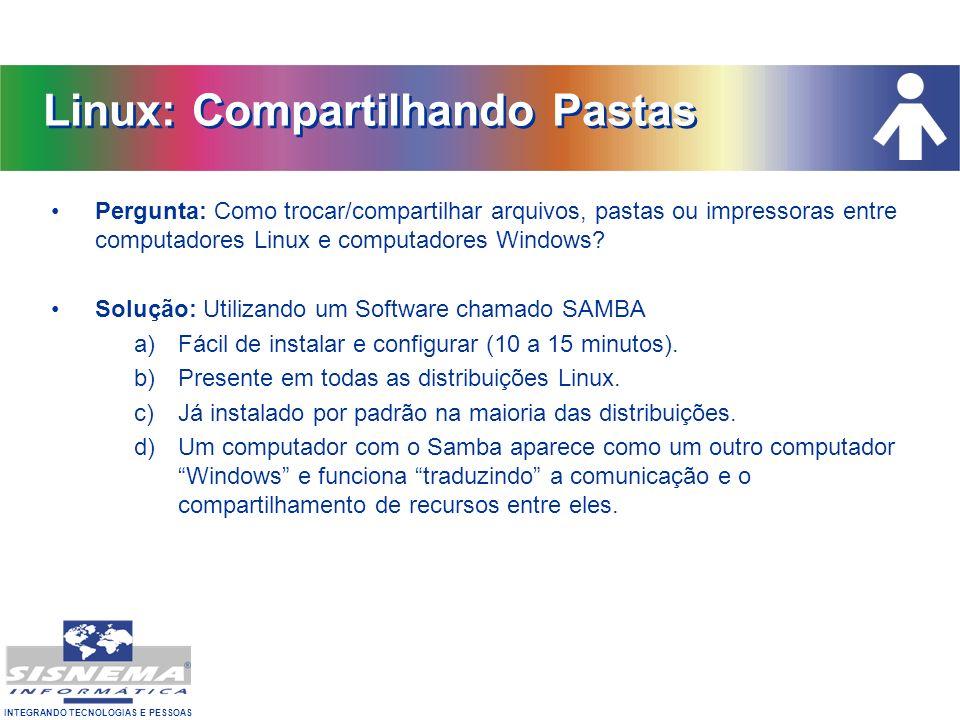 Linux: Compartilhando Pastas