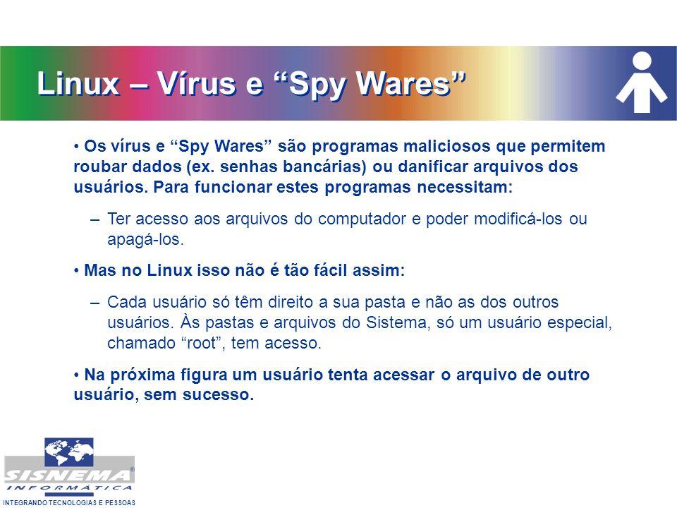 Linux – Vírus e Spy Wares