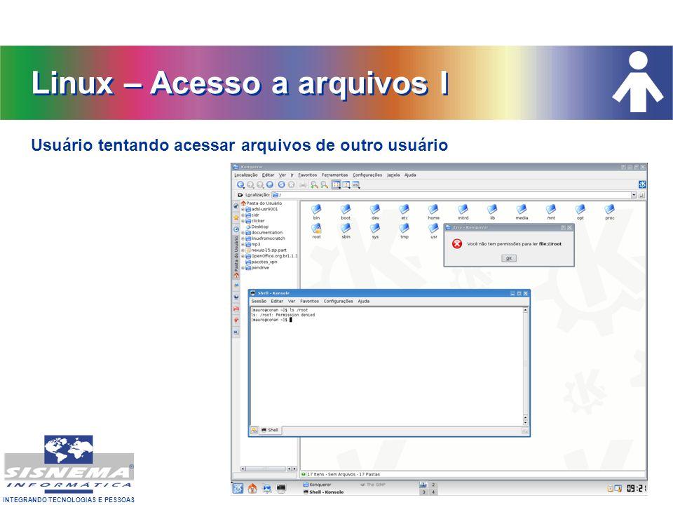 Linux – Acesso a arquivos I