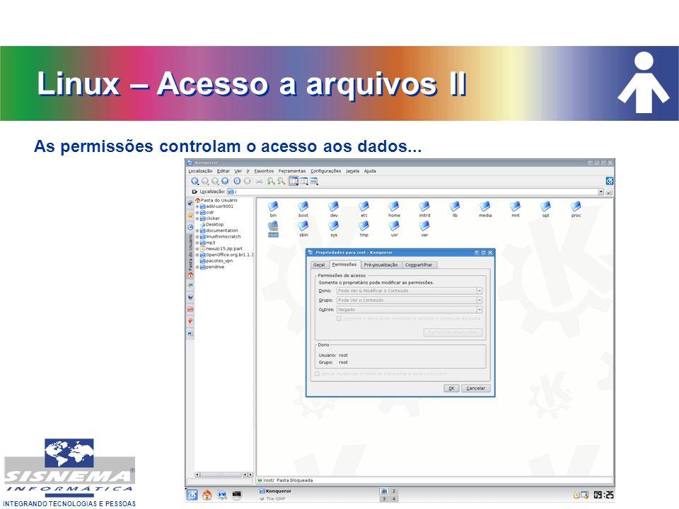 Linux – Acesso a arquivos II