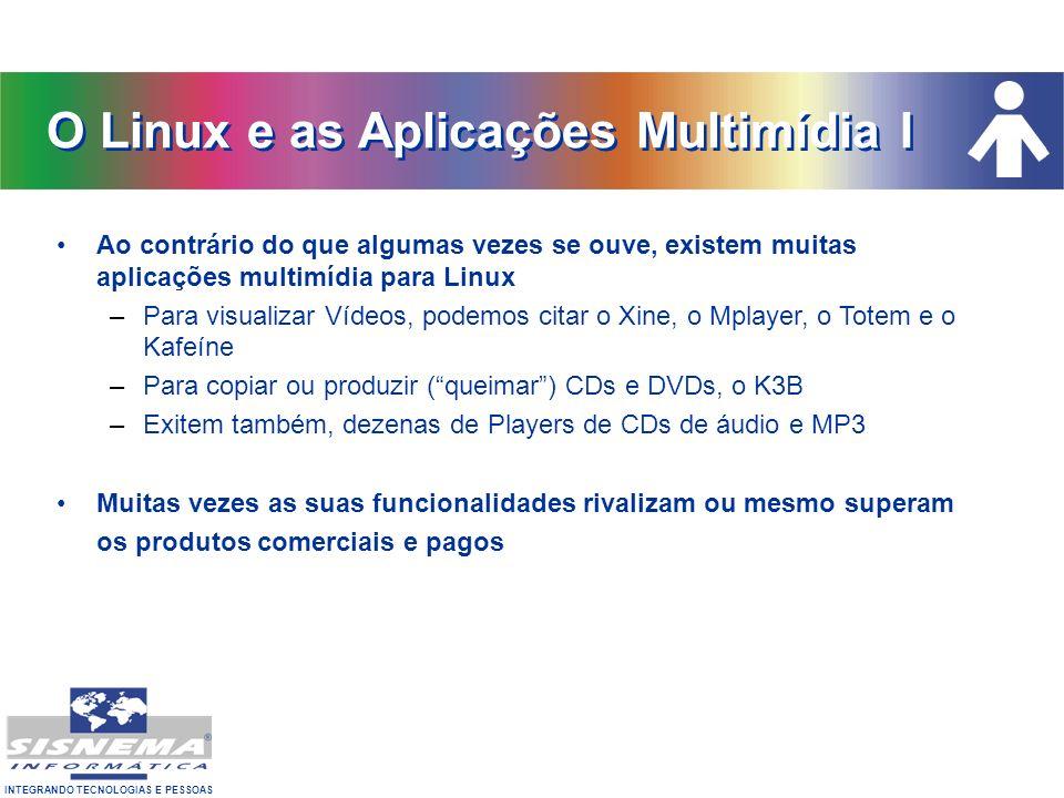 O Linux e as Aplicações Multimídia I