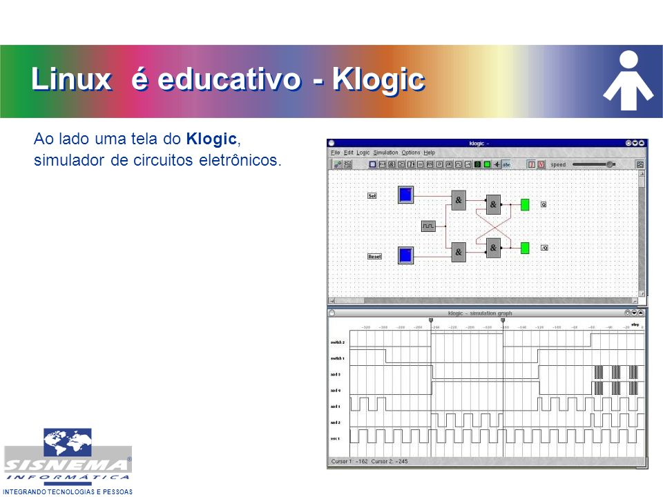 Linux é educativo - Klogic