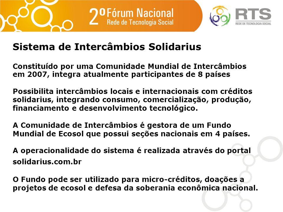 Sistema de Intercâmbios Solidarius