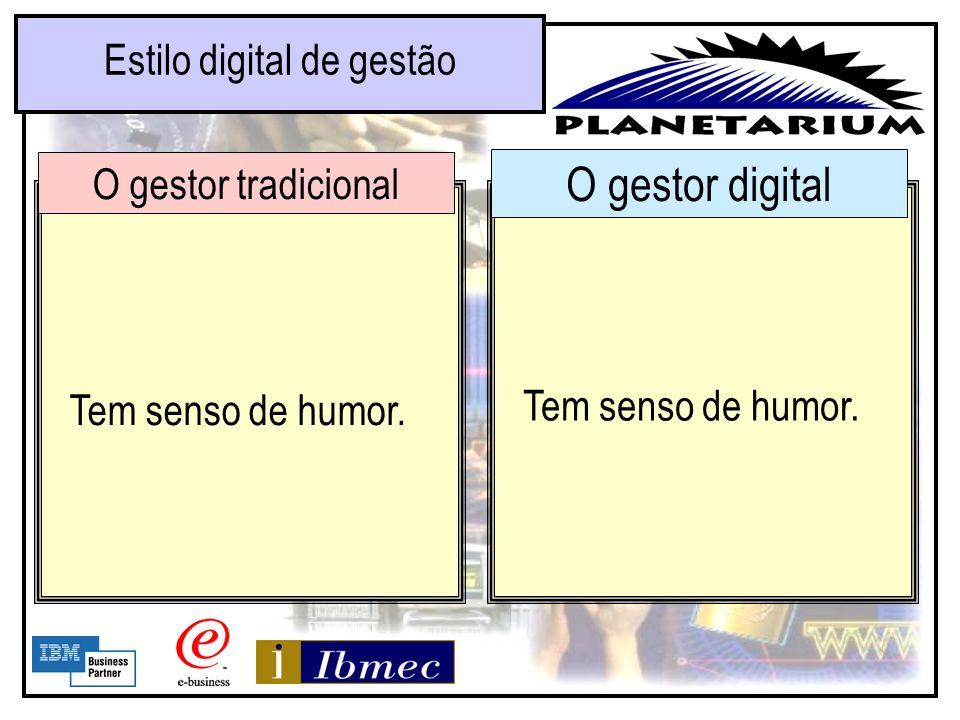 Estilo digital de gestão