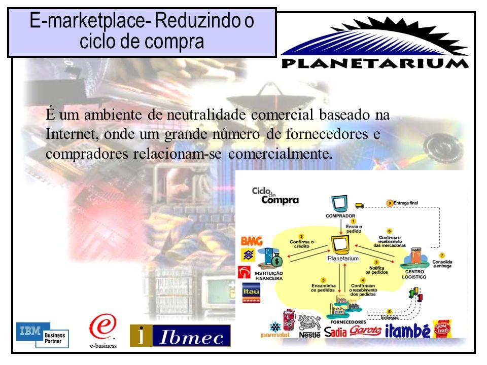 E-marketplace- Reduzindo o ciclo de compra