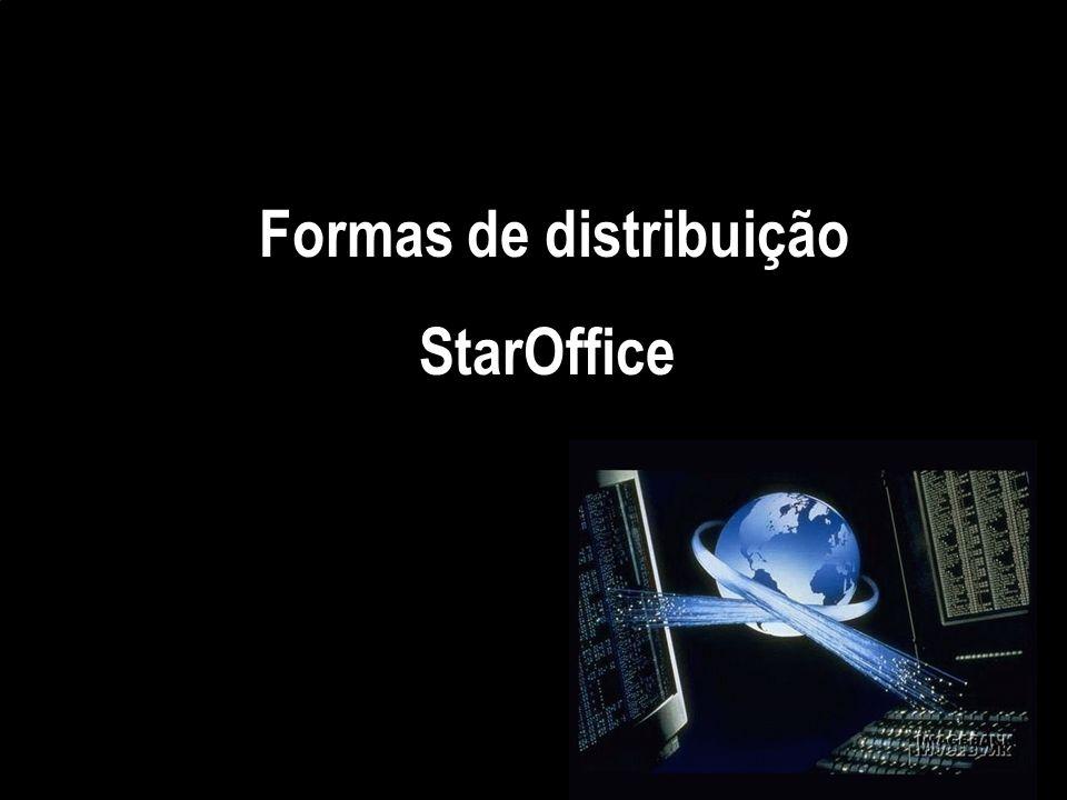 Formas de distribuição