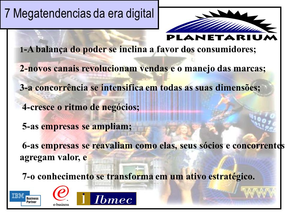 7 Megatendencias da era digital