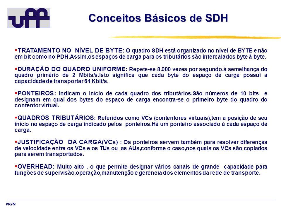 Conceitos Básicos de SDH