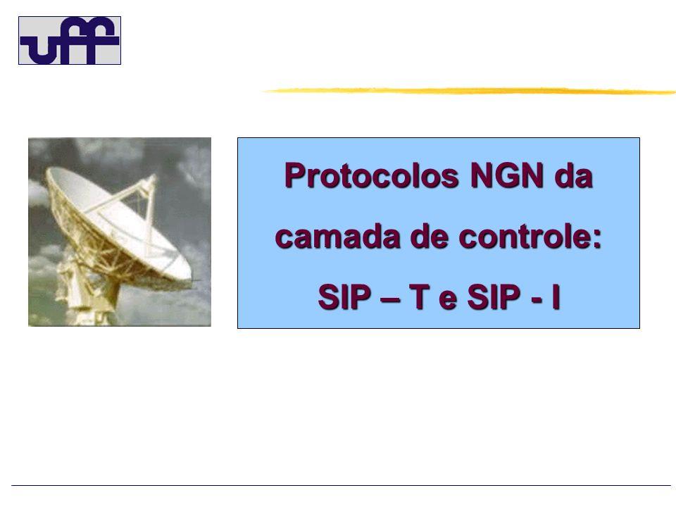 Protocolos NGN da camada de controle:
