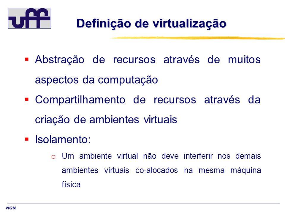 Definição de virtualização
