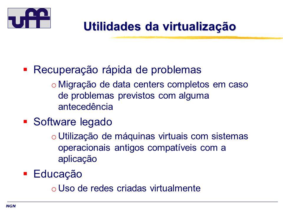 Utilidades da virtualização