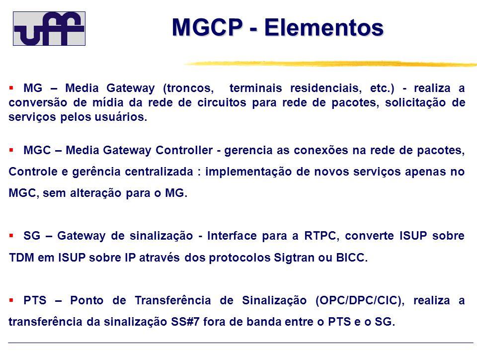 MGCP - Elementos