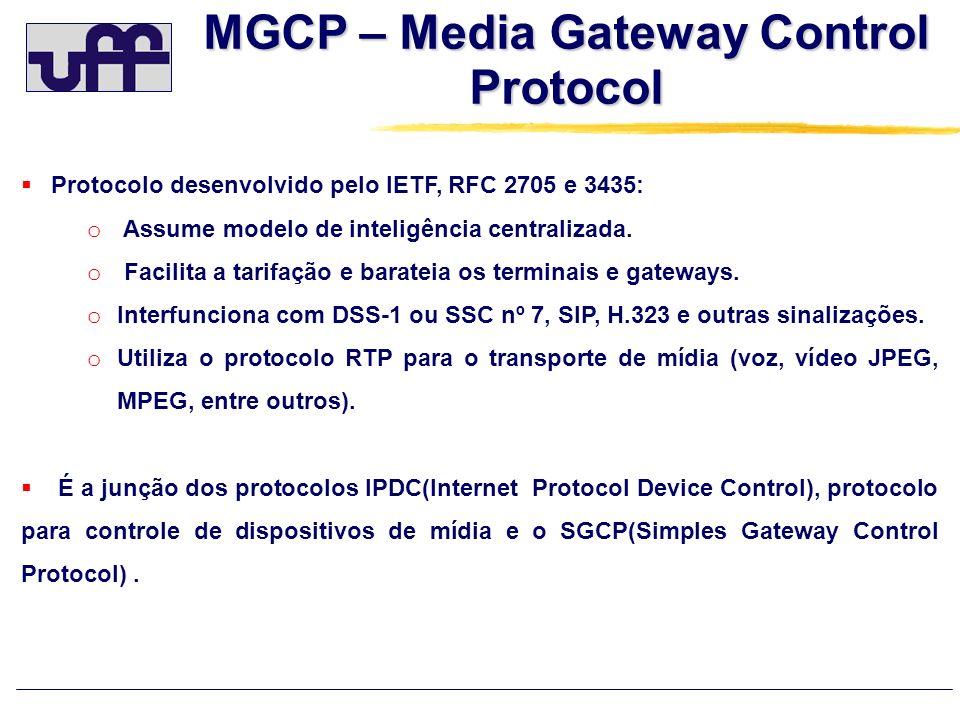 MGCP – Media Gateway Control