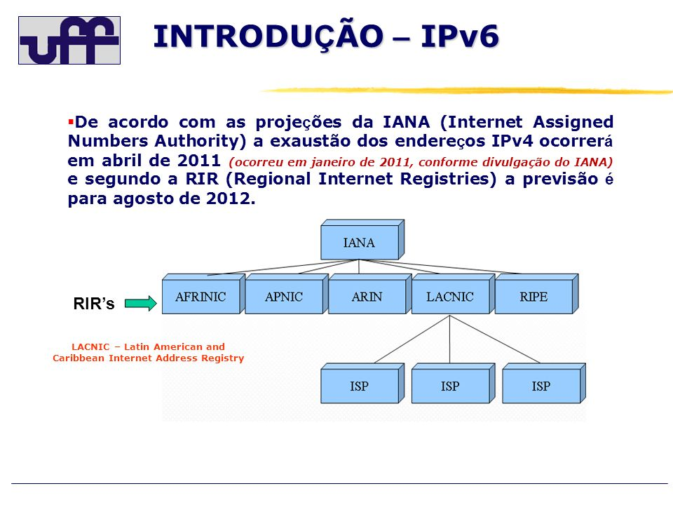 LACNIC – Latin American and Caribbean Internet Address Registry