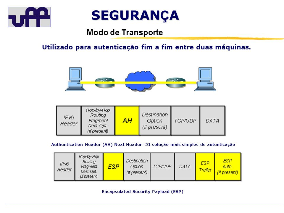 Encapsulated Security Payload (ESP)