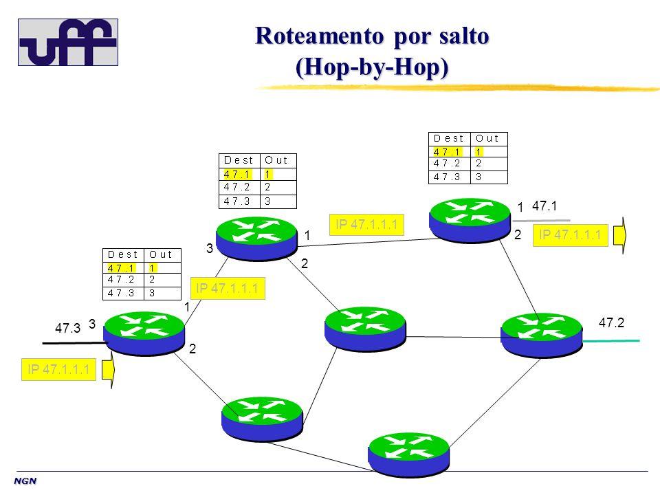 Roteamento por salto (Hop-by-Hop)
