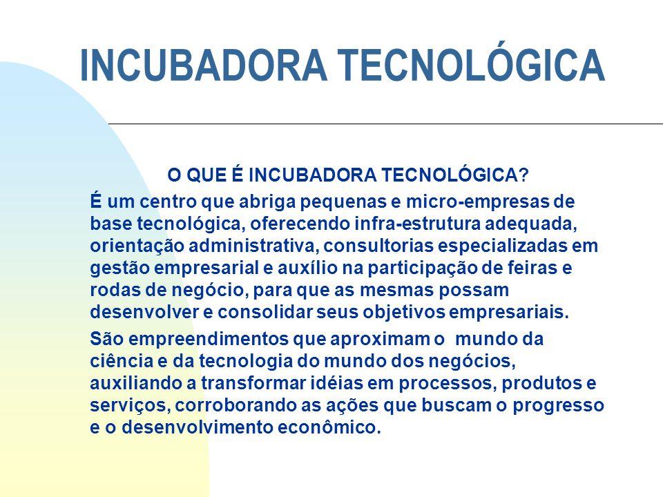 INCUBADORA TECNOLÓGICA