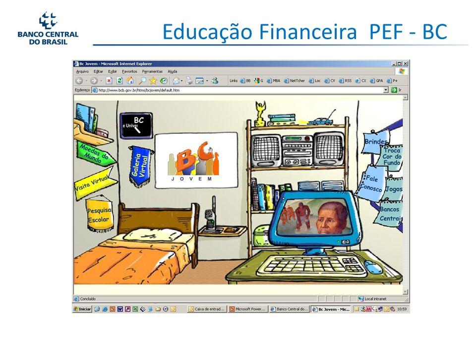 Educação Financeira PEF - BC