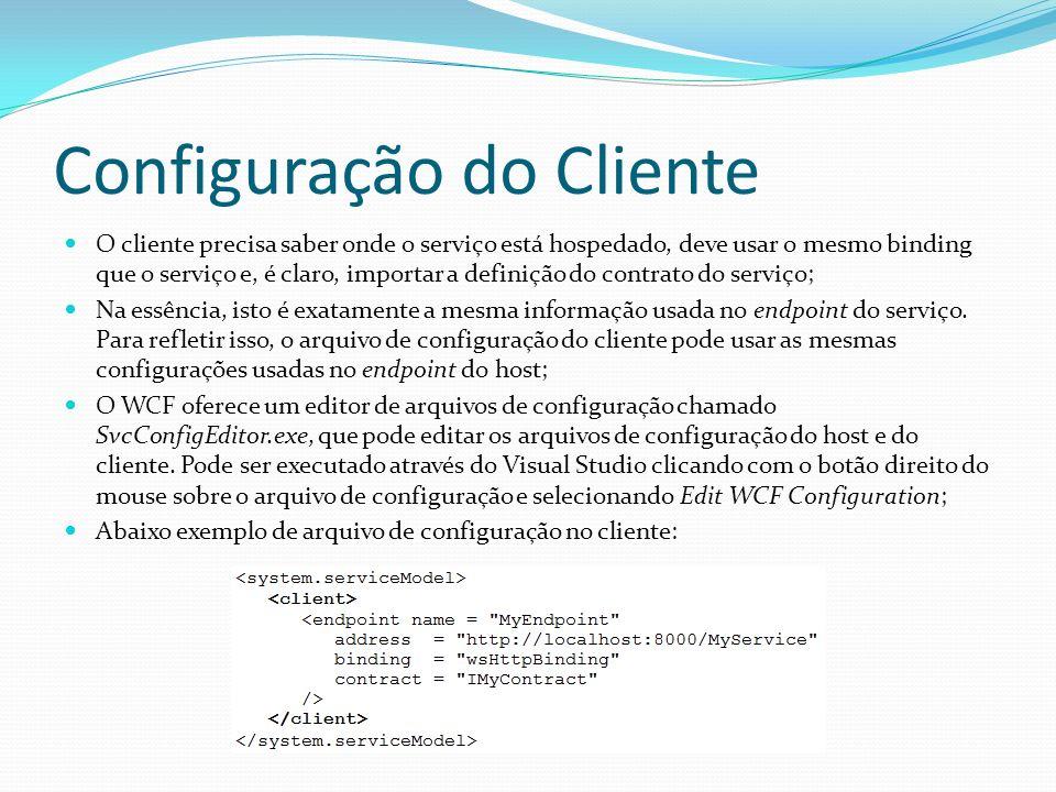 Configuração do Cliente