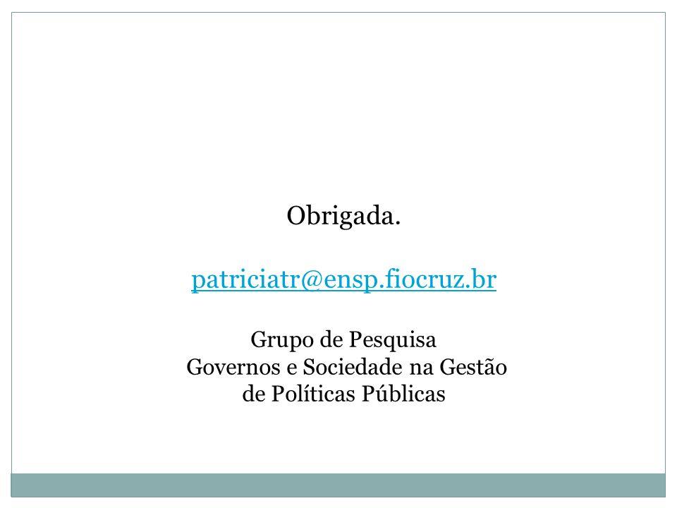 Governos e Sociedade na Gestão de Políticas Públicas
