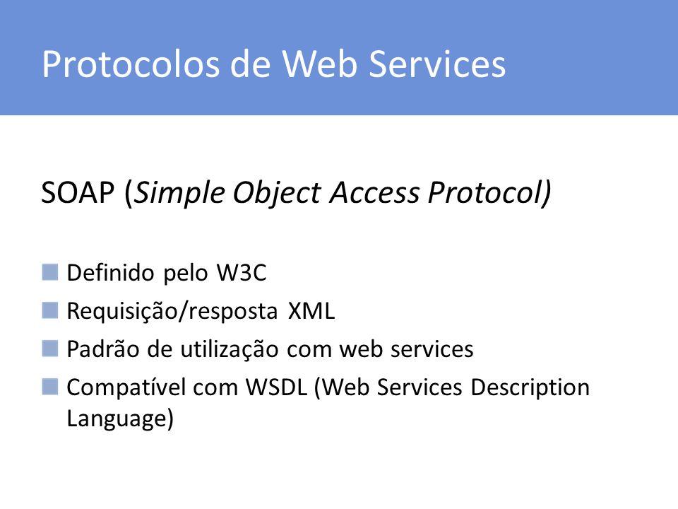 Protocolos de Web Services