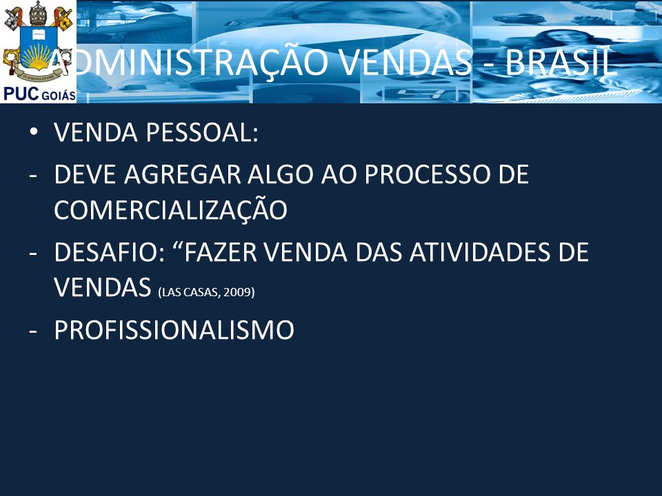 ADMINISTRAÇÃO VENDAS - BRASIL
