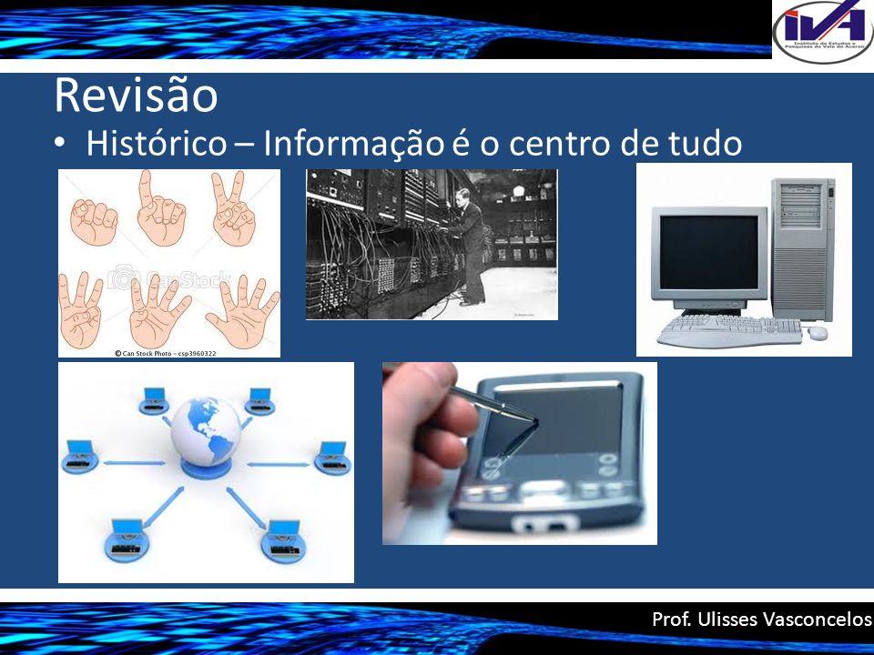 Revisão Histórico – Informação é o centro de tudo
