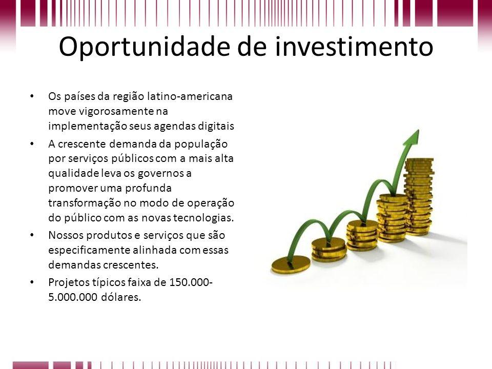 Oportunidade de investimento