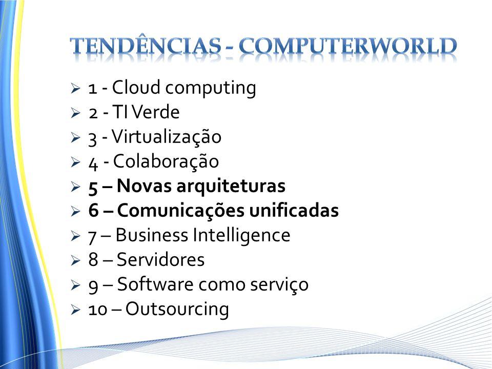 Tendências - computerworld