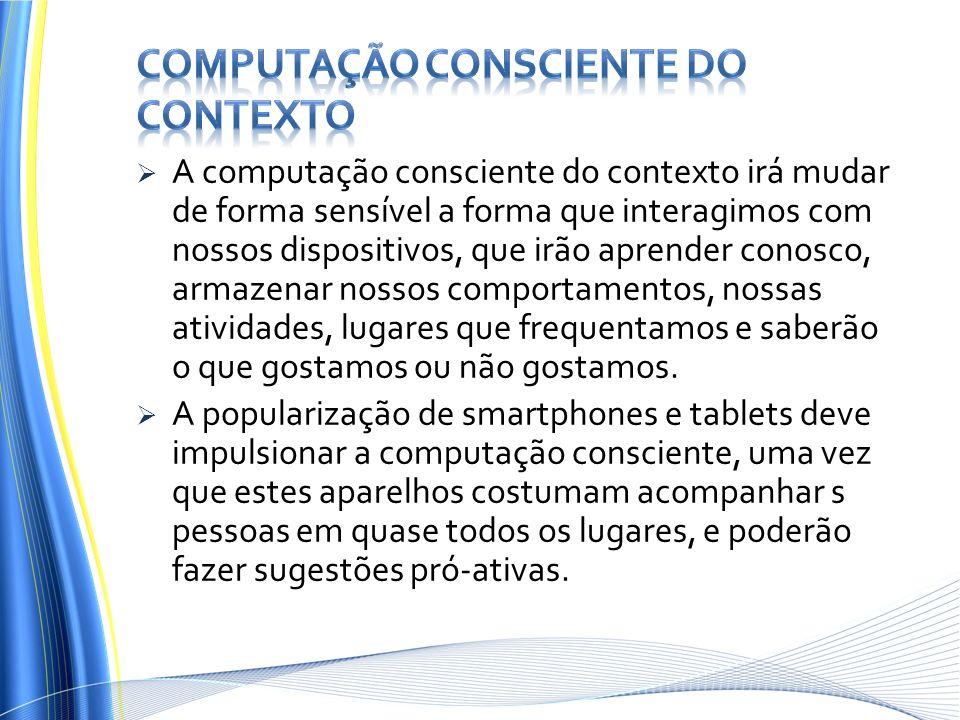computação consciente do contexto