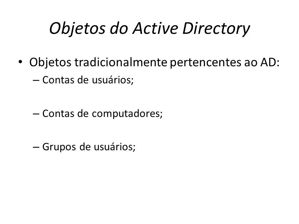 Objetos do Active Directory