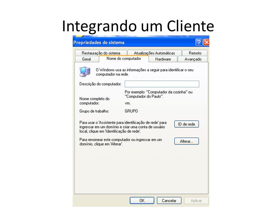 Integrando um Cliente